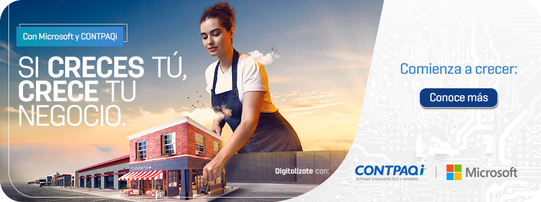 Microsoft y CONTPAQi, crece tu empresa.